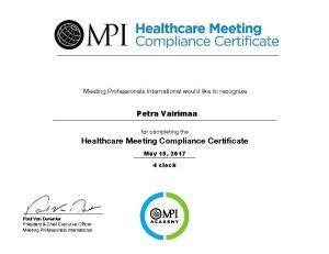HMCC Certificate_ Petra Vairimaa